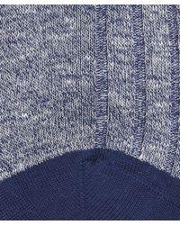 Pantherella - Blue Hamada Melange Socks for Men - Lyst