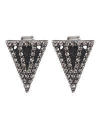 Lulu Frost | Metallic Nell Stud Earrings | Lyst