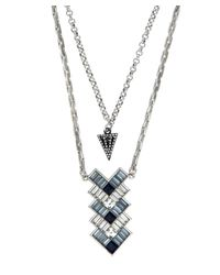 Lulu Frost - Multicolor Lola Deco Blue Pendant Necklace - Lyst