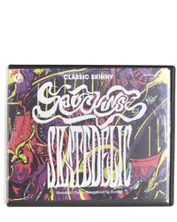 Rockins - Blue Skatedelic Classic Skinny Scarf - Lyst