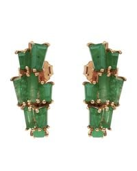 Nak Armstrong - Multicolor Rose Gold Ear Jacket Earrings - Lyst