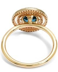Astley Clarke - Metallic Exclusive London Blue Topaz Icon Aura Ring - Lyst
