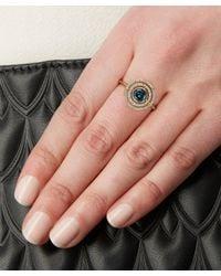 Astley Clarke - Metallic Exclusive London Blue Topaz Icon Aura Ring - Lyst