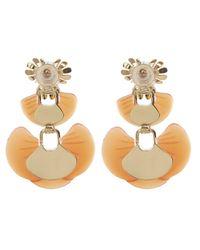 Lele Sadoughi - Multicolor Enamel Island Earrings - Lyst