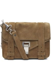 Proenza Schouler | Multicolor Mini Ps1 Leather Crossbody Bag | Lyst