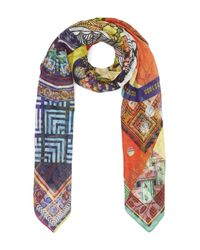 Christian Lacroix - Multicolor Private Collection Silk Jacquard Scarf - Lyst