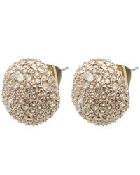 Alexis Bittar - Multicolor Crystal Encrusted Stud Earrings - Lyst