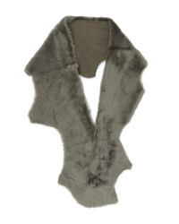 Karl Donoghue - Green Cashmere Touch Button Scarf - Lyst