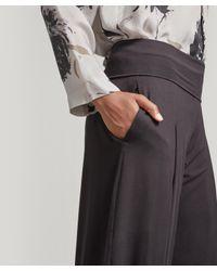 Oska Black Ellinor Pull-on Trousers