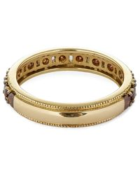 Annoushka - Metallic 18ct Yellow Gold Dusty Diamond Eternity Ring - Lyst