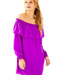 Lilly Pulitzer | Purple Dee Dee Dress | Lyst