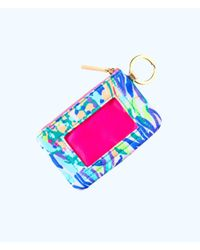 Lilly Pulitzer - Blue Key Id Card Case - Lyst