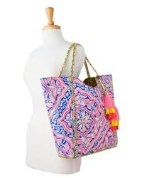 Lilly Pulitzer | Multicolor Pool Tote Bag - Reversible | Lyst