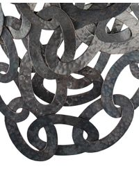 Monies - Black Multiple Strings Copper Necklace - Lyst