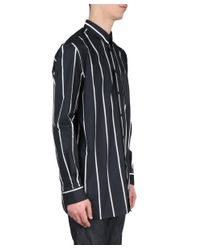 Givenchy - Black Cotton Shirt for Men - Lyst