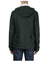 Junya Watanabe - Green Linen Field Jacket for Men - Lyst