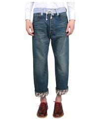 Junya Watanabe - Blue Wide Levi's Denim Jeans for Men - Lyst