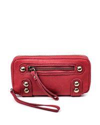 Linea Pelle | Red Dylan Wallet | Lyst
