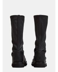 Rick Owens - Sock Creeper Boots In Black - Lyst