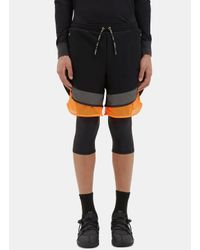 Adidas Originals - Men's Fim Yarn Layered Shorts In Black for Men - Lyst