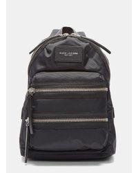 Marc Jacobs | Women's Mini Biker Double Zipped Backpack In Black | Lyst