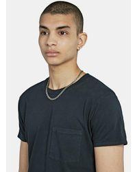 Saint Laurent   Metallic Silver Tone Chain Necklace for Men   Lyst