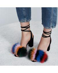 Loeffler Randall - Blue Nicolette High Heel Sandal - Lyst