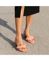 Loeffler Randall | Multicolor Vera Ruffle Slide Sandal | Lyst