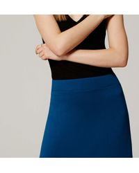 LOFT - Blue Tall Essential Maxi Skirt - Lyst