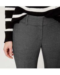 LOFT - Gray Tall Trousers In Julie Fit - Lyst