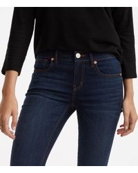 LOFT - Blue Lou & Grey Skinny Jeans - Lyst