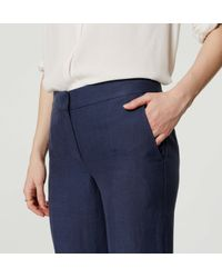 LOFT - Blue Veranda Trousers - Lyst