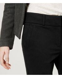 LOFT - Black Tall Essential Skinny Ankle Pants In Marisa Fit - Lyst