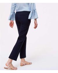 LOFT - Blue Tall Essential Skinny Ankle Pants In Marisa Fit - Lyst