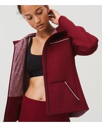 LOFT - Red Lou & Grey Form Anytrack Jacket - Anytime - Lyst