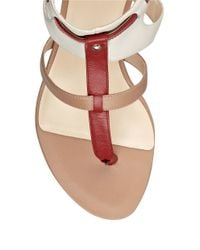 Nine West | Multicolor Leather Sandals | Lyst