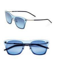 Marc Jacobs - Blue Wayfarer 49mm Sunglasses - Lyst