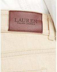 Lauren by Ralph Lauren - Black Premier Flared Jeans - Lyst