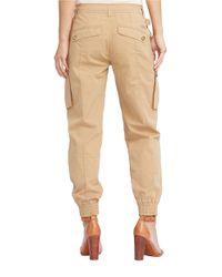Lauren by Ralph Lauren - Multicolor Cotton Chino Cargo Pants - Lyst