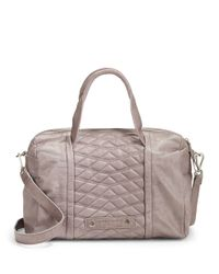 Liebeskind Berlin Multicolor Evelyn Quilted Leather Satchel