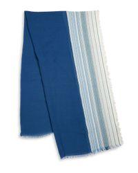 Steve Madden - Blue Striped Wrap for Men - Lyst