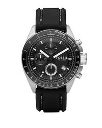Fossil - Black Chronograph Tachymeter Watch for Men - Lyst
