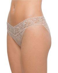 Hanky Panky - Natural Signature Lace Vikini Panties - Lyst