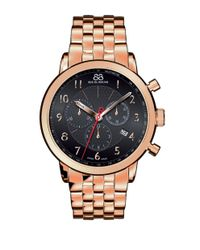 88 Rue Du Rhone | Metallic Men's Double 8 Origin Rose Gold Chronograph Watch for Men | Lyst
