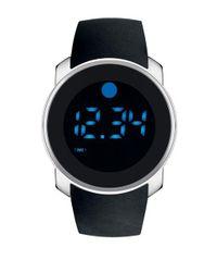 Movado Bold - Black Bold Dual-time Digital Watch for Men - Lyst