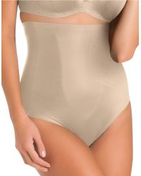Tc Fine Intimates - Natural Just Enough Hi Waist Brief - Lyst