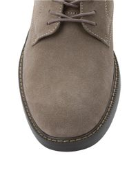 G.H. Bass & Co. | Gray Pasadena Suede Oxfords for Men | Lyst