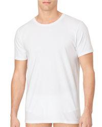 Calvin Klein | White Three-pack Crew Neck Tee for Men | Lyst