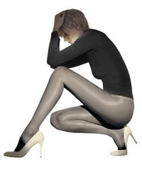 Wolford | Black Satin Touch 20 Tights | Lyst