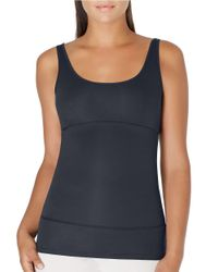 Yummie By Heather Thomson | Black Pearl Compression Tank Top | Lyst